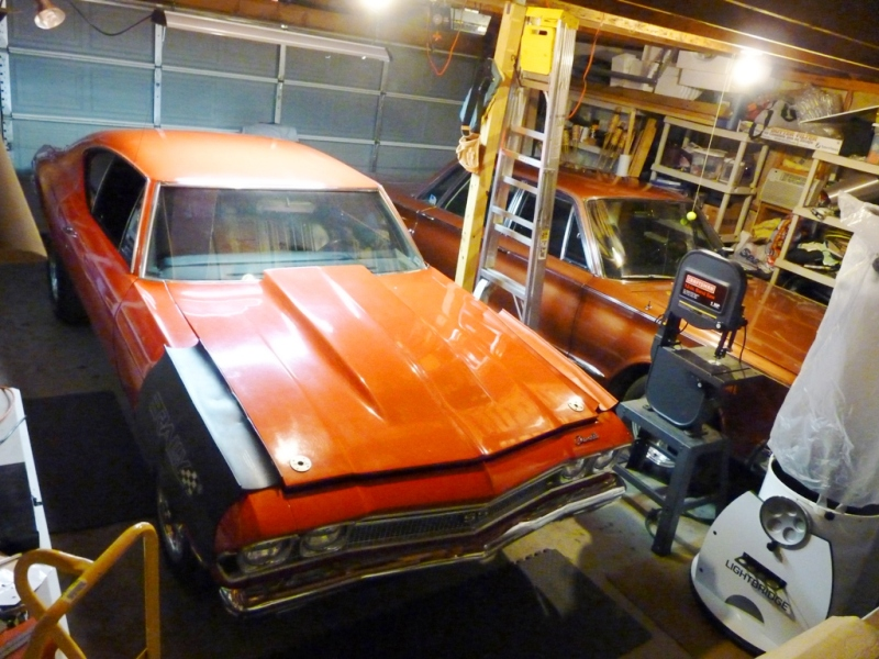 Christopher mckitterick 1968 chevelle ss396 project for Garage chevrolet luxembourg